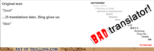 Bad Translator male sexism women - 7004535296