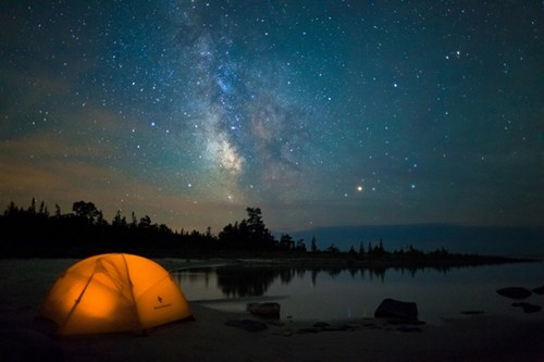 swimming,camping,night,lake