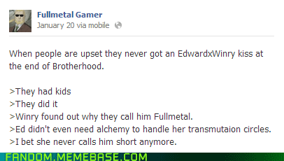 fullmetal alchemist facebook winry - 7004967936