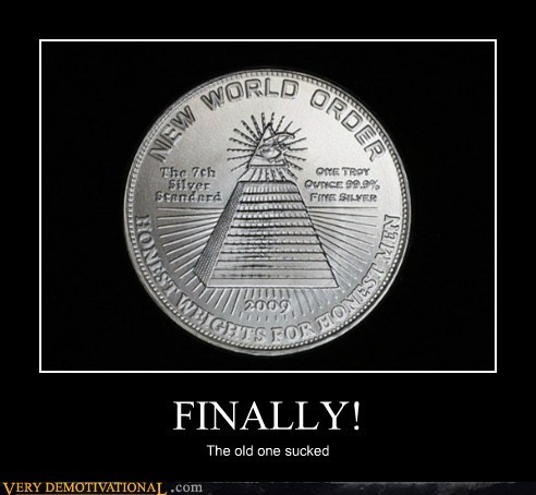 quarter money new world order