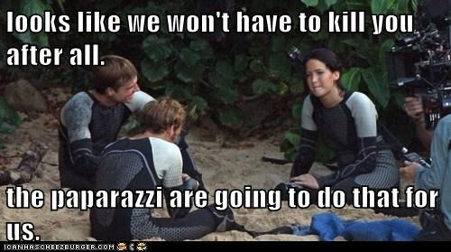 killing,jennifer lawrence,hunger games,katniss everdeen,paparazzi