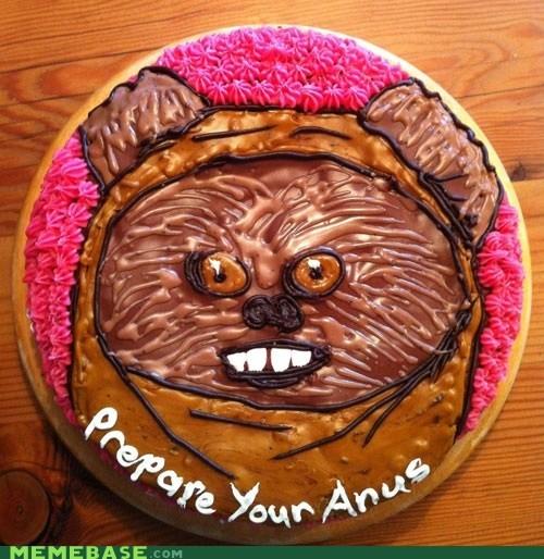 cake wtf star wars ewok - 7005946624