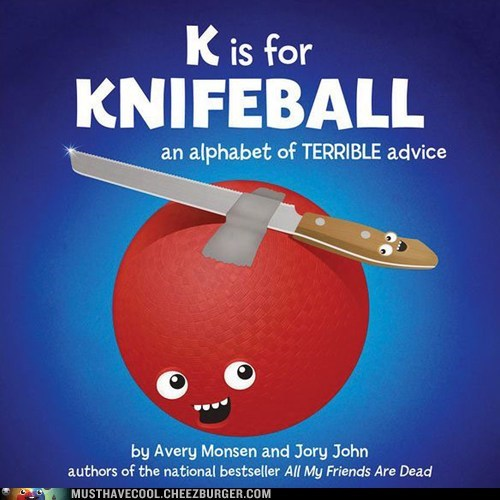 knifeball,books,bad advice