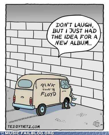 pink floyd comic the wall