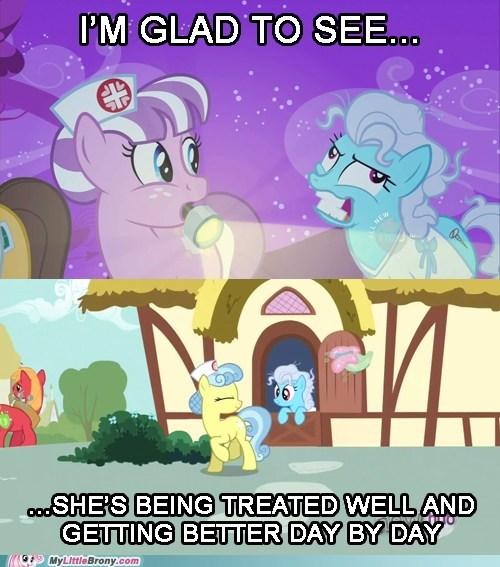 crazy nurse background ponies - 7006754304