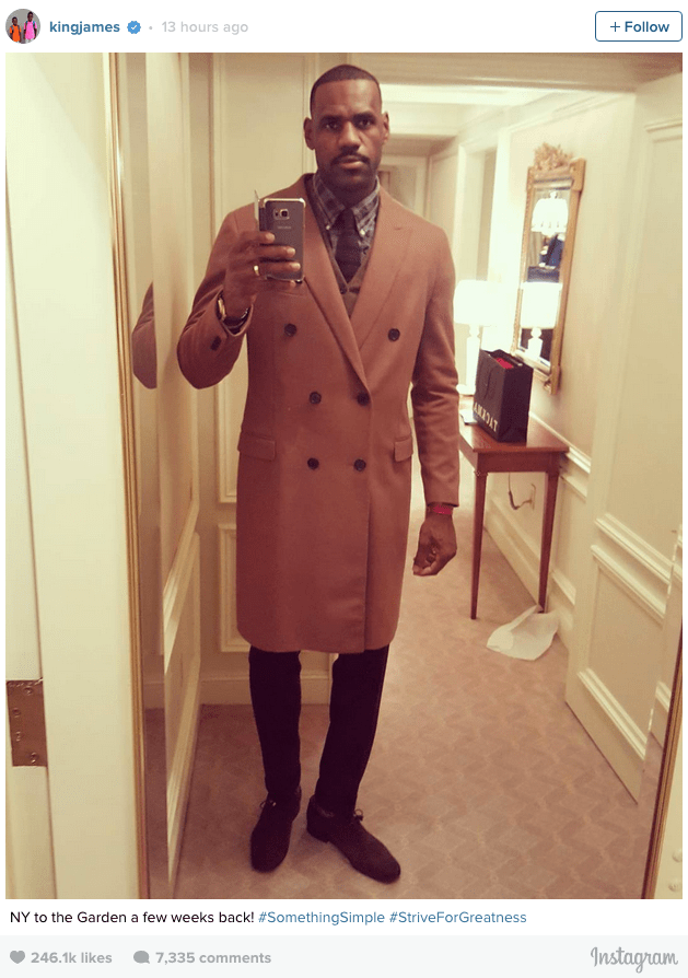 fashion photoshop lebron james list instagram twitter