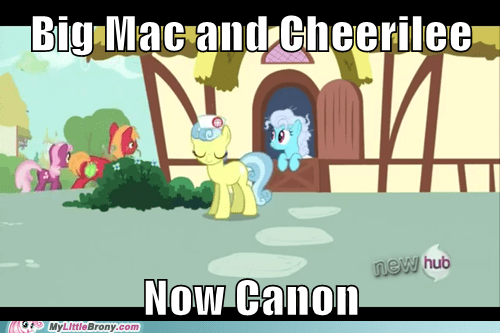 cheerilee,canon,big mac
