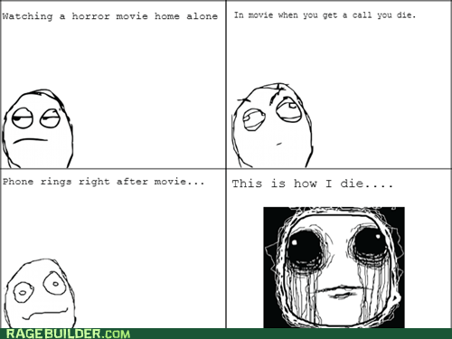 this is how i die scary movie horror movie - 7006981888