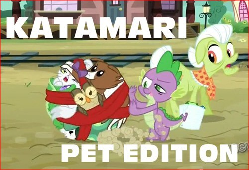 spike pets Katamari Damacy video games - 7007165440