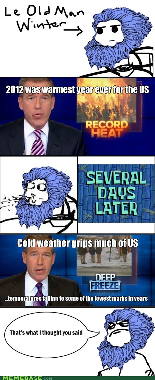cereal guy,weather,old man winter,winter