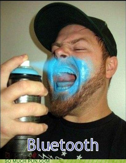blue teeth literalism bluetooth - 7007415040