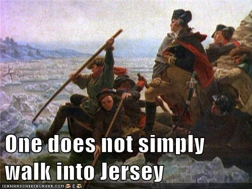 Delaware jersey george washington washington