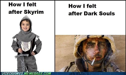 gaming,gamers,dark souls,Skyrim