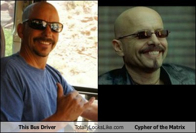 cypher the matrix TLL Joe Pantoliano bus driver