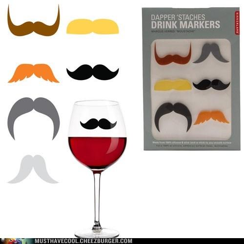 glasses marker mustaches - 7008096256