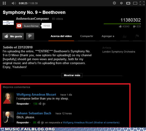 Listening to Some Beethoven When Suddenly...