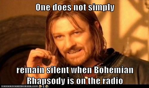 sean bean Lord of the Rings one does not simply bohemian rhapsody Boromir silent - 7009133056