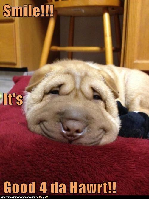 Smile!!! It's Good 4 da Hawrt!!