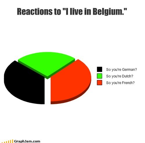 belgium country Pie Chart