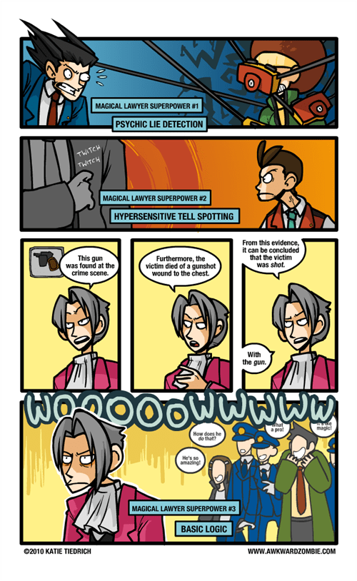 comics phoenix wright video games - 7009933056