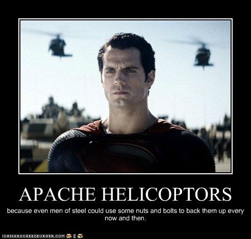 helicopters man of steel superman Henry Cavill - 7010159104