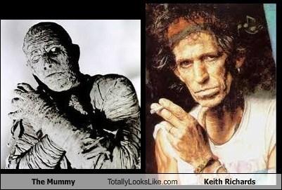 Keith Richards TLL The Mummy boris karloff rolling stones - 7010248192