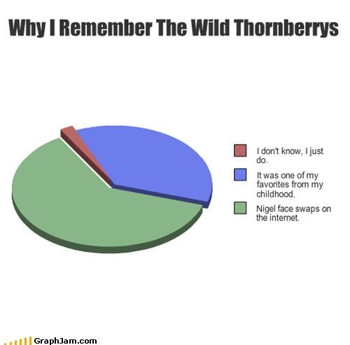 wild thornberrys,meme,face swap,smashing,Pie Chart