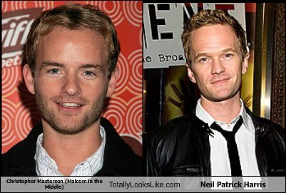 Christopher Masterson (Malcom in the Middle) Totally Looks Like Neil Patrick Harris