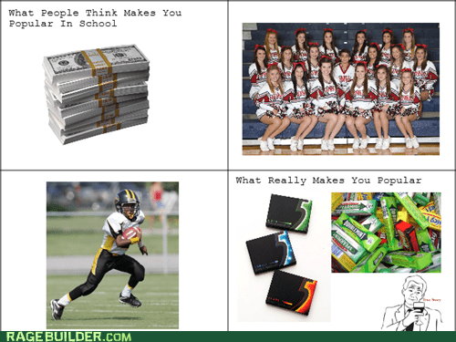 gum,high school,popularity,football,truancy story