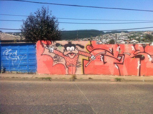 gooby,south america,art,Chile,graffiti,vacation