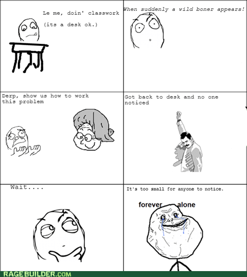 forever alone class truancy story - 7011412736