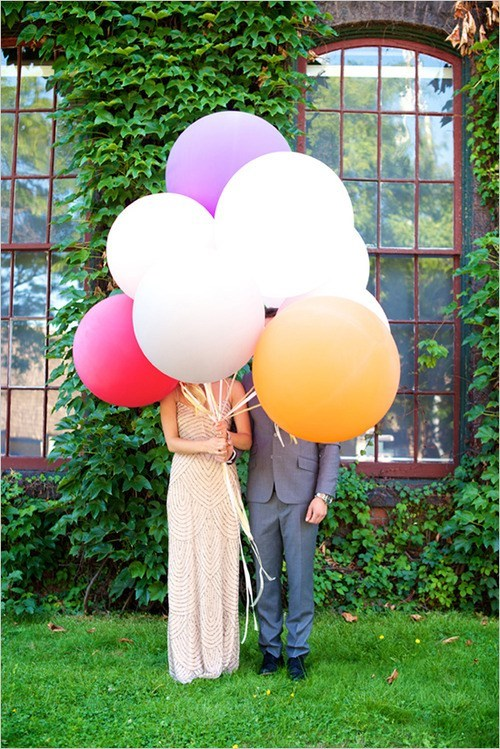 heads Balloons just pretty pretty couple - 7011696896