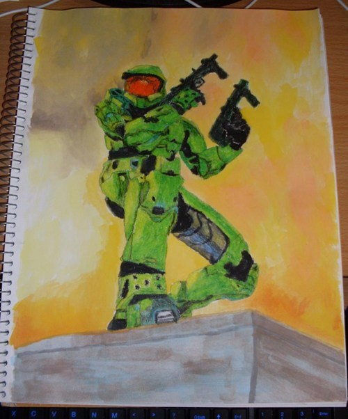 Fan Art halo video games - 7011747328