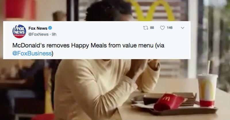 twitter McDonald's restaurant ridiculous reaction fast food - 7012101