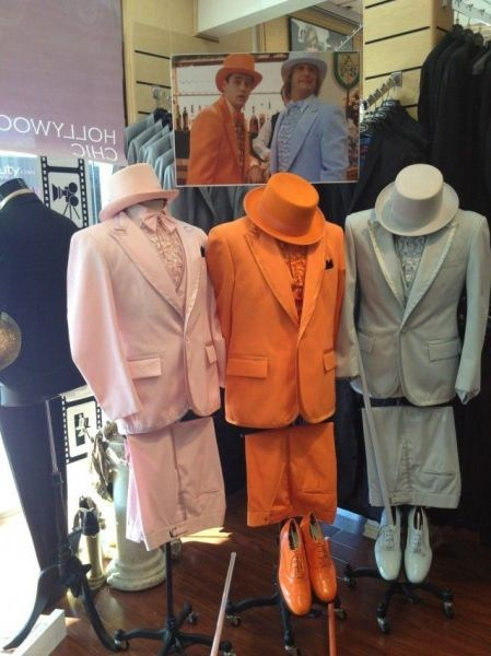 Dumb and Dumber tuxedos tux rental
