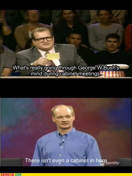 president TV classic whose line is it anyway bush - 7013281024