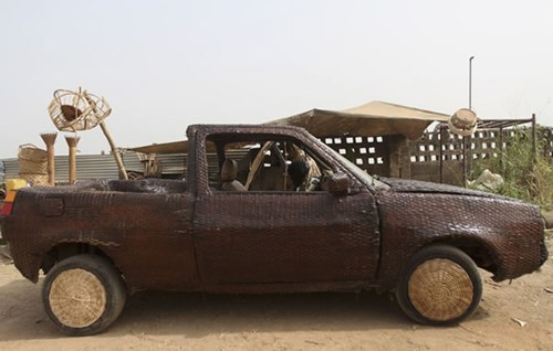 wicker car truck - 7013303552