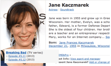 breaking bad jane kaczmarek actor TV funny - 7013335296