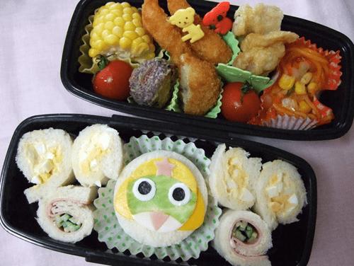 sgt frog,Tokyo Otaku Mode,bento,charaben,noms