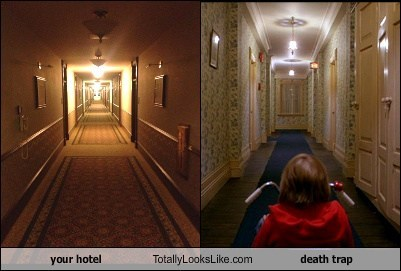 scary hallway hotel TLL the shining - 7013626112
