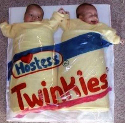baby costumes twinkies twins - 7013692928