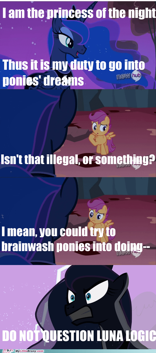 comics,dreams,luna,Scootaloo