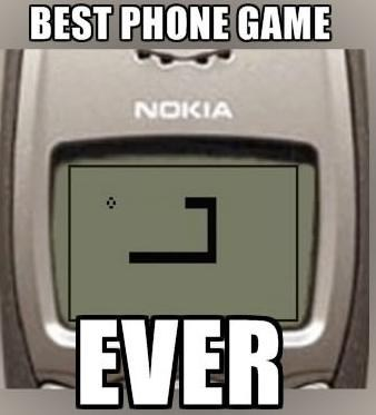 nokia,fruit ninja,phone games,snake