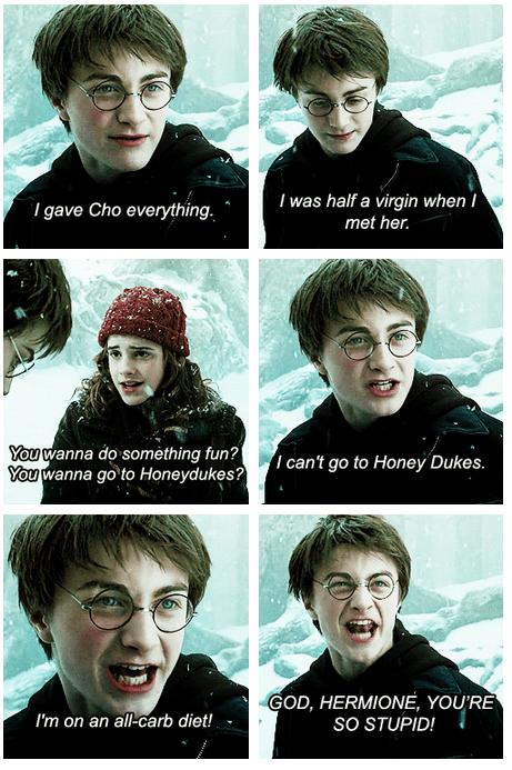 Harry Potter Daniel Radcliffe Movie actor mean girls funny emma watson - 7013727232