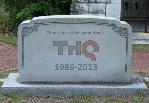 THQ gone bankrupt video game company dead sold off