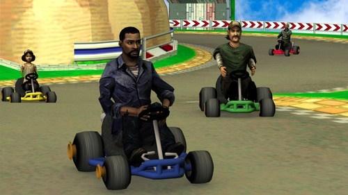 Mario Kart crossover The Walking Dead - 7013802240