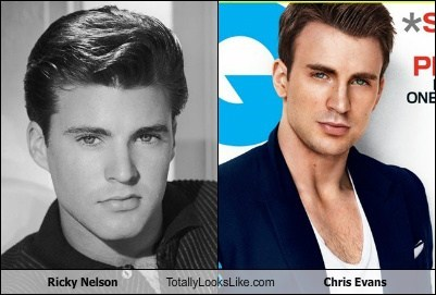 TLL blue eyes captain america chris evans ricky nelson