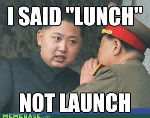 kim jong-un missiles lunch launch - 7014213888