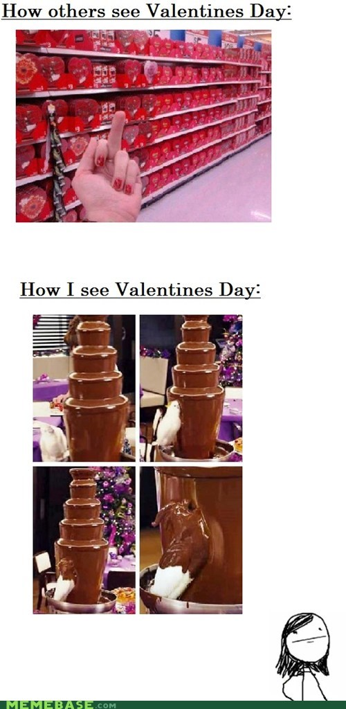 single chocolate Valentines day - 7014365696