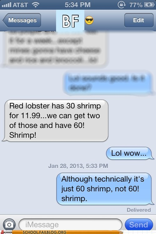 factors math shrimp text red lobster